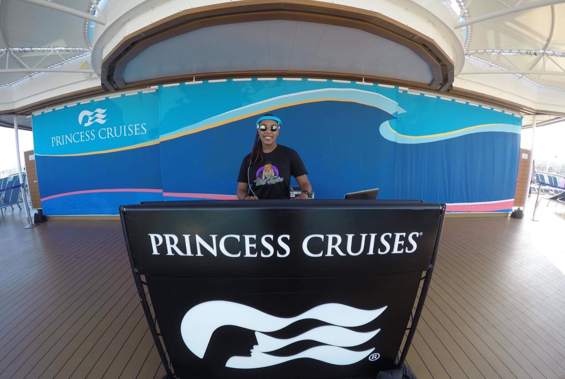 DJ Whitt Taylor Princess Cruises