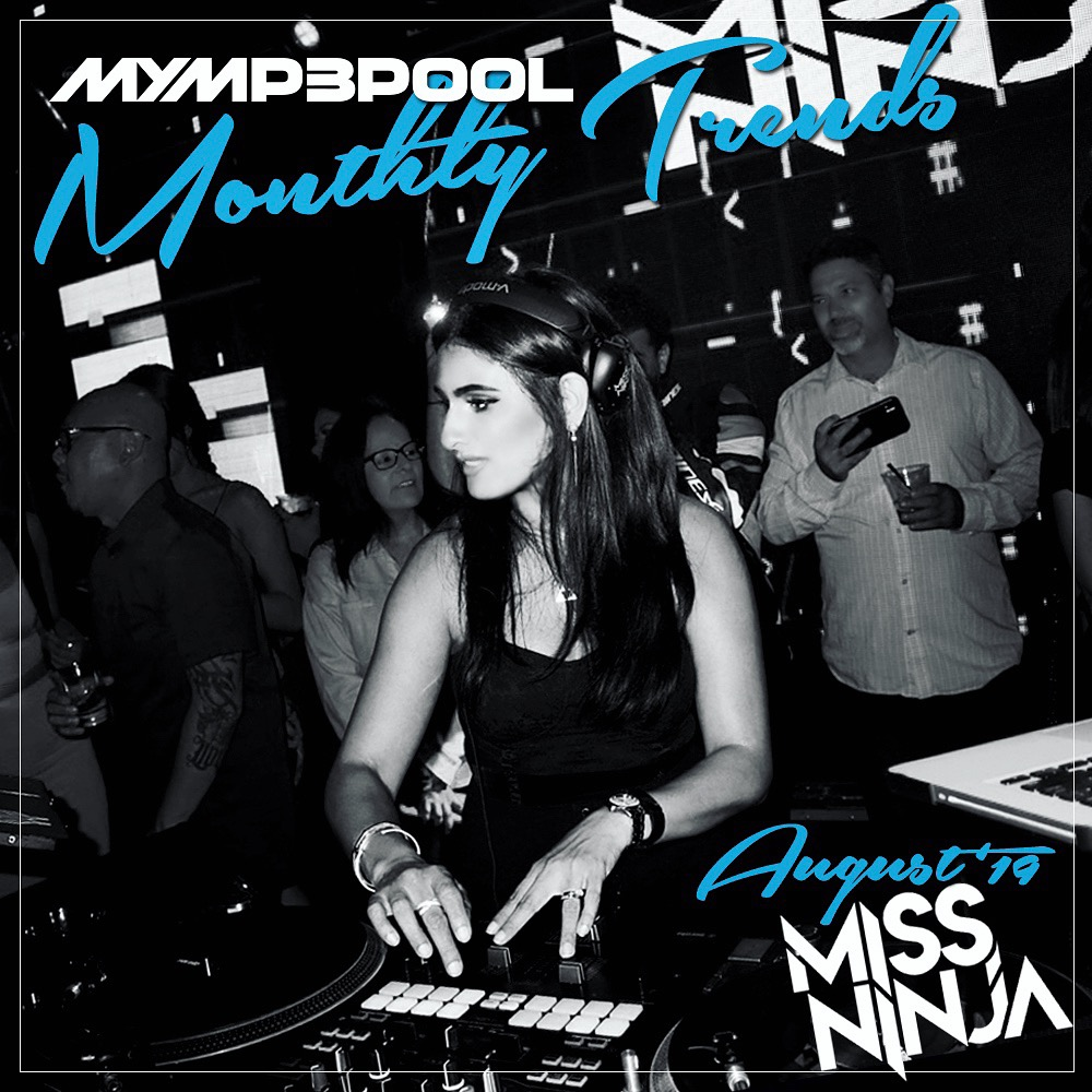 August Trends Mix 2019 - DJ MissNINJA_cover